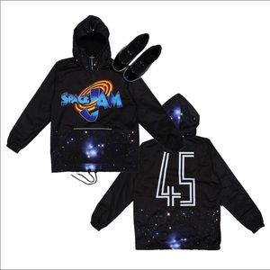 Other - Hooded Space Jam Hoodie 3x